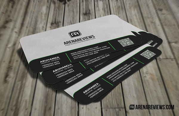 Sleek rounded corner business card free on behance download free it here colourmoves