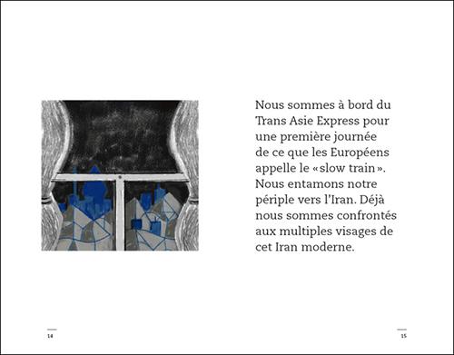 Adobe Portfolio livre week-end Iran Marc Lariviere