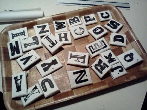 letterpress letter biscuit cookie home made homemade Food  package design  package