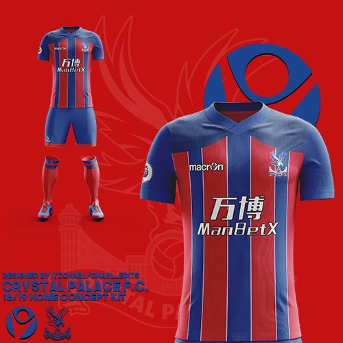 e58effa6671 Crystal Palace 18 19 Home Concept Kit Charl On Behance