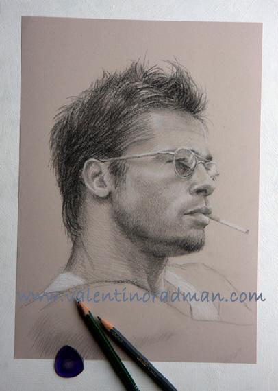 drawings portrait graphite