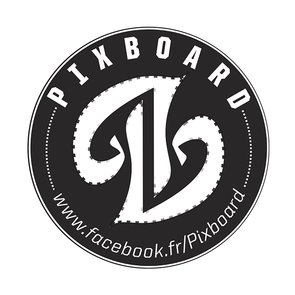 pixboard logo skateboard pix photographer