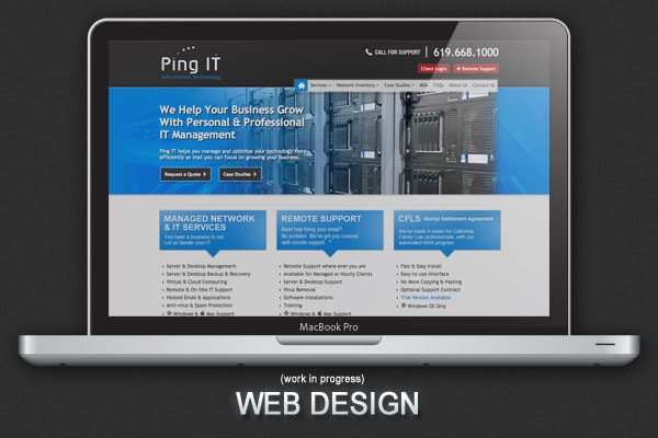 Ping IT  logo Computer Information Technology