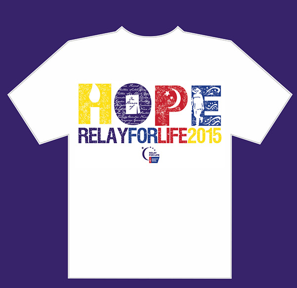 Relay for life on behance for Relay for life t shirt designs