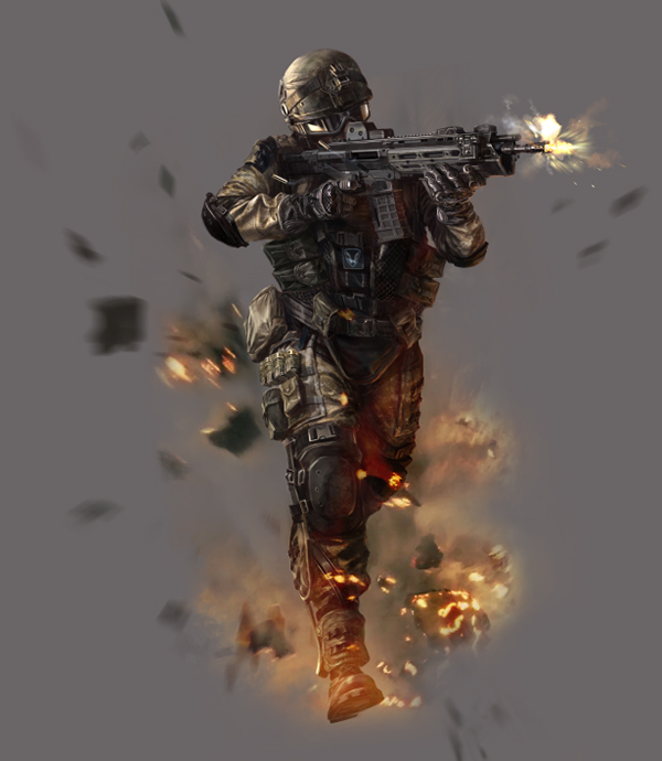 Concept art nexon warface on behance for Nexon client