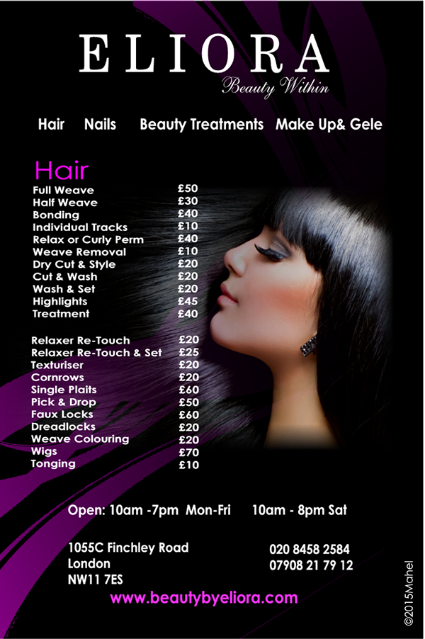 Hair And Beauty Flyer Images Joy Studio Design Gallery