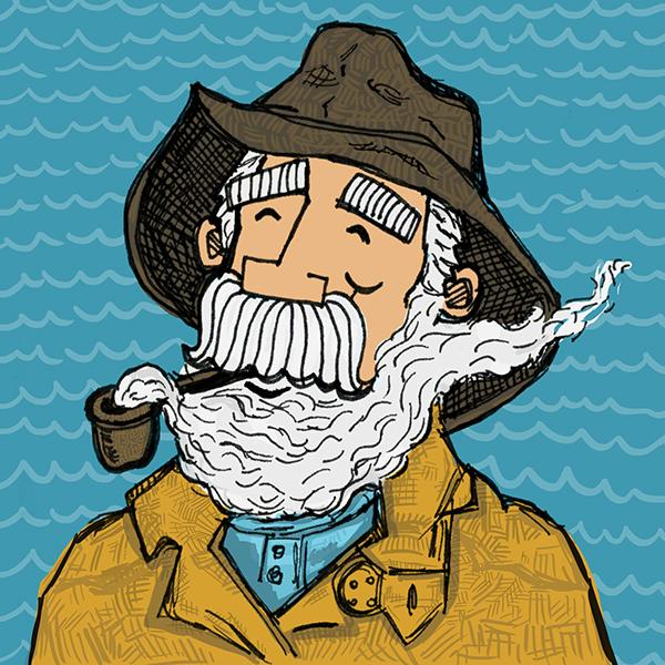 Sailor Beard Drawing Smoke Beard Sailor on Behance