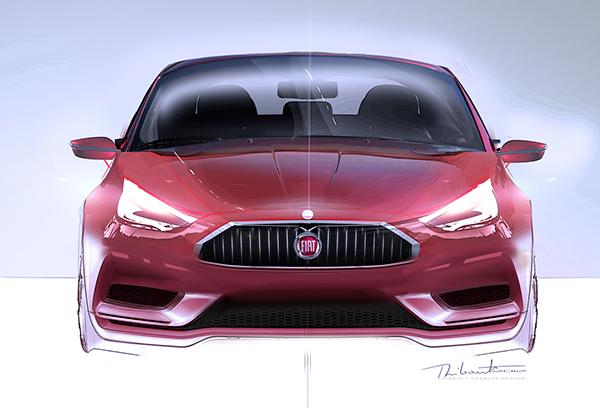 Fiat Punto 2020 On Behance
