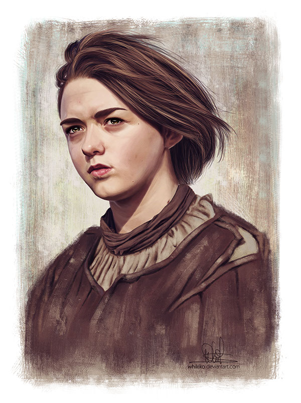 Game of Thrones Portraits Pt. 2 by Whitney Silva