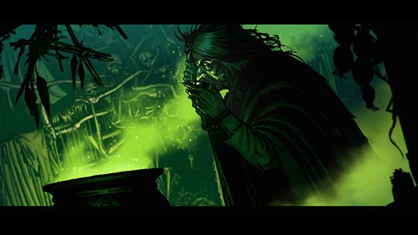 Division48 intro cinematic witcher wiedzmin CDP RED Werewolf troll wild Hunt