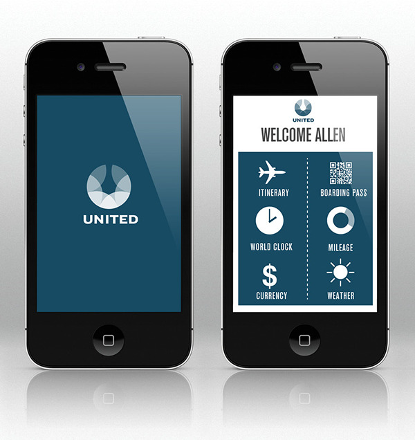 United Airlines On Behance