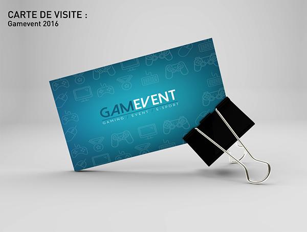 Gamevent Carte De Visite