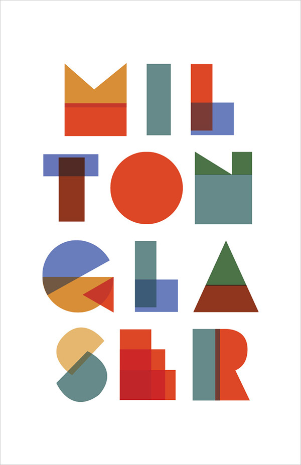Milton glaser history poster on behance