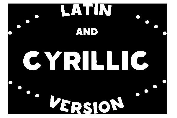 free Typeface font Latin Cyrillic шрифт бесплатный Латиница   кириллица