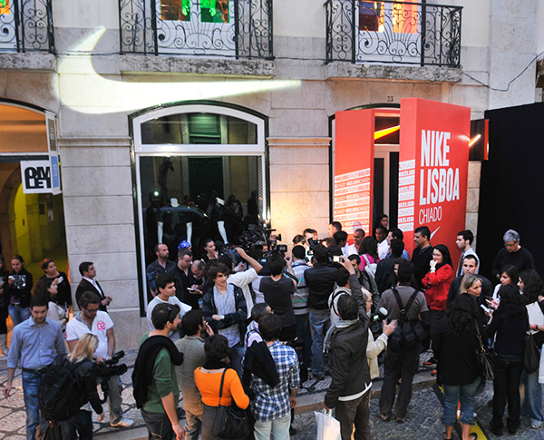 Nike Store Chiado Opening on Behance 8d311d452e
