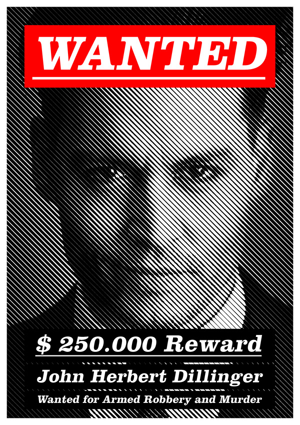 Modern Wanted Poster on Behance – Wanted Criminal Poster