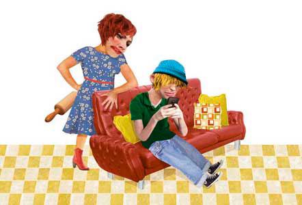 postcard home baby Love teenager alone autumn Kite girl party flag blackbird