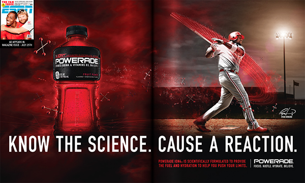 Powerade Magazine Ads