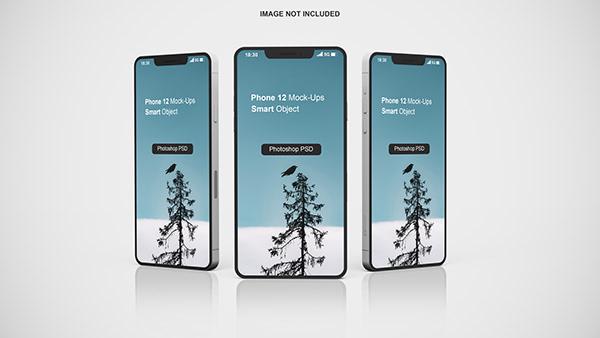 Iphone 12 App Mockup