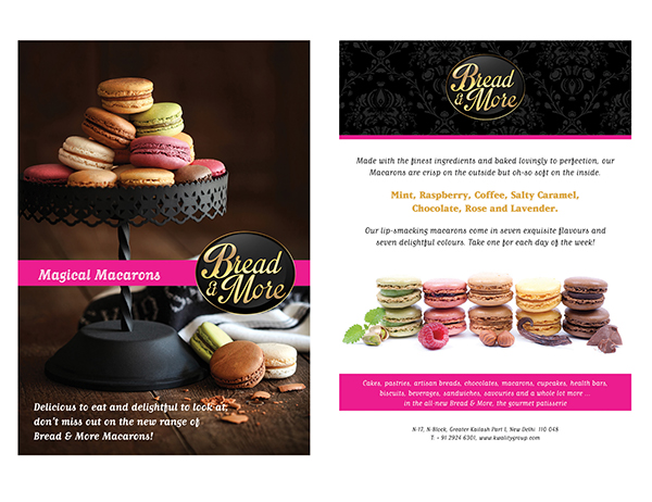 Flyers For Bakery On Behance