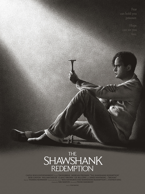 the shawshank redemption on behance