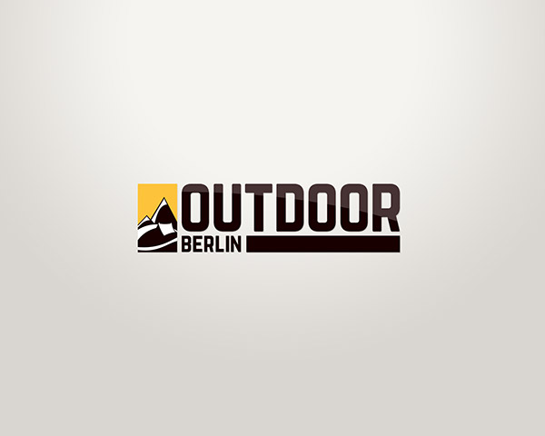 outdoor logo web design on behance