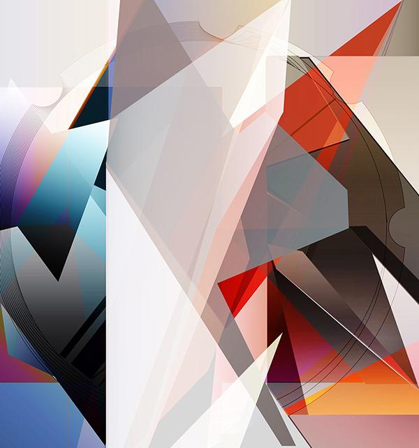 有獨特感的15個幾何設計欣賞