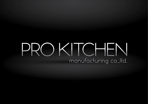 Pro kitchen manufacturing co ltd logo design on behance for Kitchen design logo