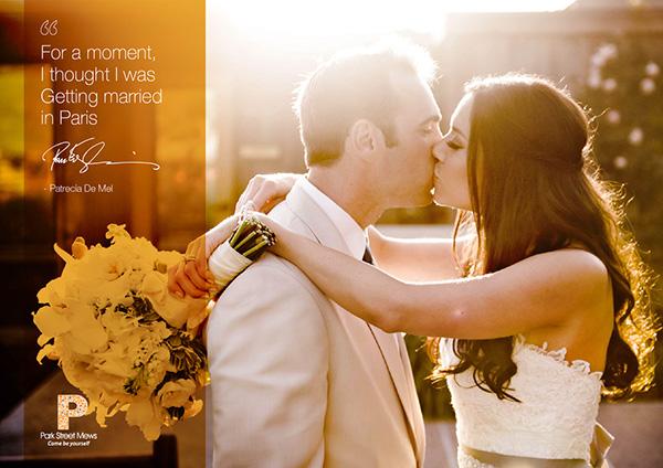 Park Street Mews French Wedding Promo Ads On Behance