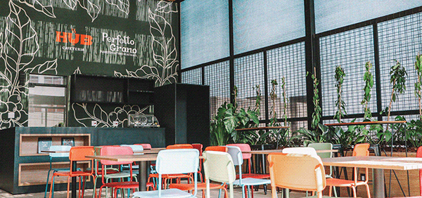 Branding Hub Cafeteria