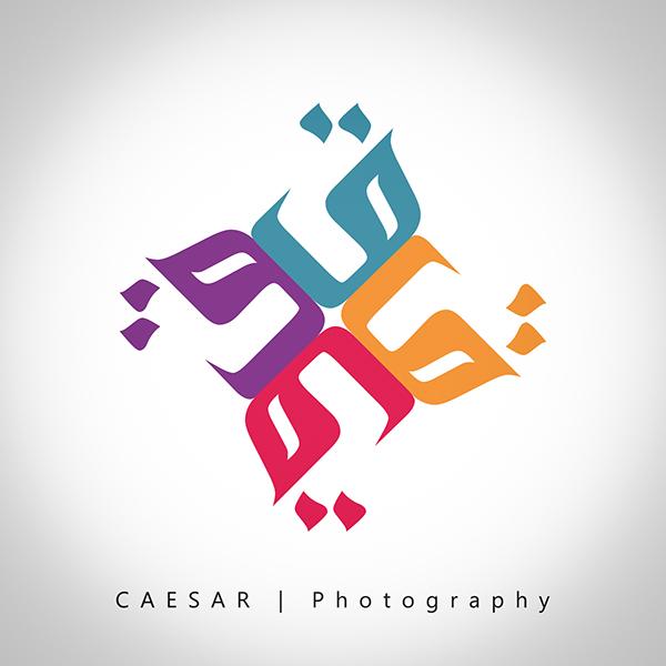 arabic letter logo design on behance