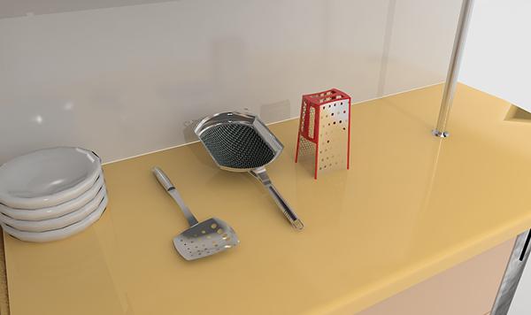 Utensilios de cocina cookware on behance - Utensilios de cocina industrial ...