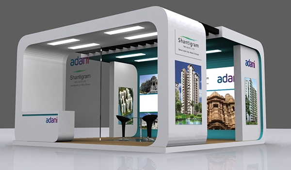 Exhibition Stall Designer Job : Exhibition stall design in ahmedabad on behance