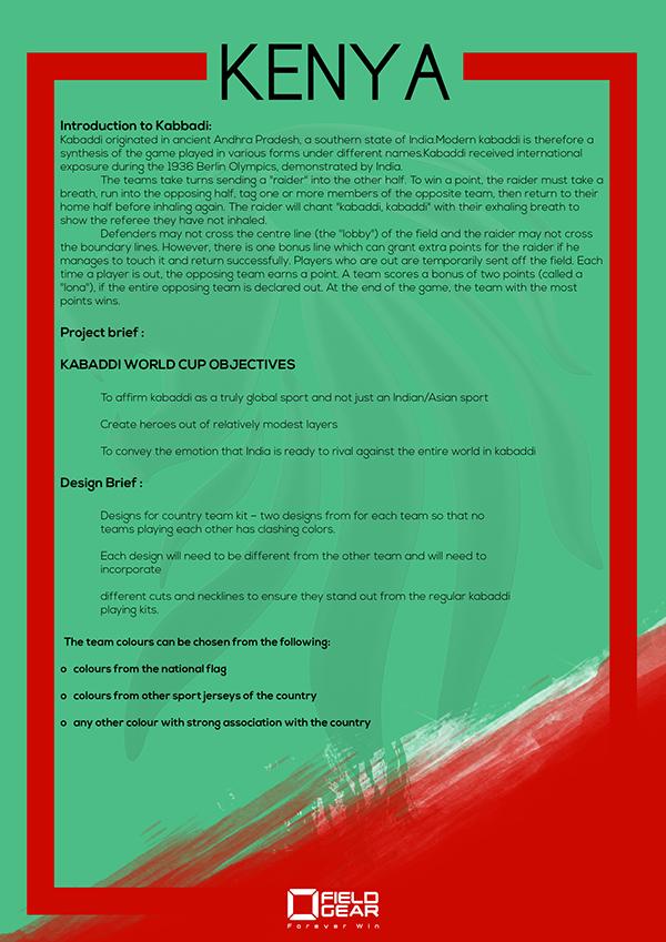 kenyahome Kenya Home Kit 2016 Kabbadi World Cup On PhilaU Portfolios