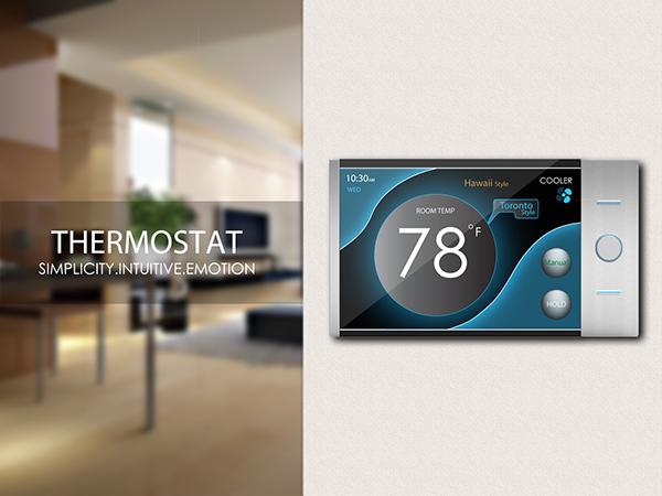 thermostat design on ccs portfolios. Black Bedroom Furniture Sets. Home Design Ideas