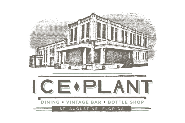 Layout Design,St. Augustine,florida,Mixology,Ice Plant Bar,rackcard,farm fresh,Quality,historic,tourism,freshest ingredients,handcrafted,cocktails,bar,restaurant