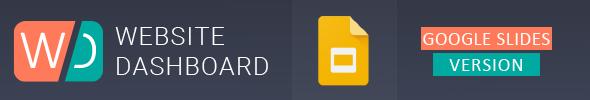 Website Dashboard Presentation Template - 4