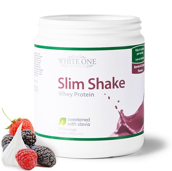 slim shake white one