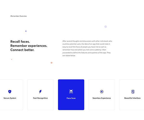 iRemember App Concept
