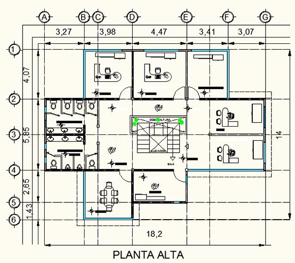 Villa universitaria on behance for Planta arquitectonica biblioteca