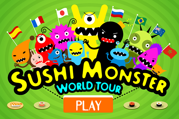 play sushi monster math game