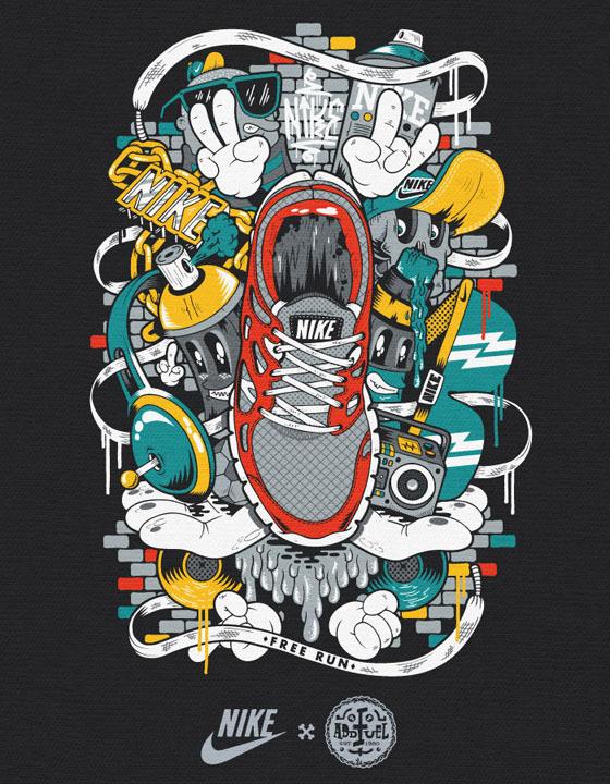 NIKE   T-Shirt Graphics