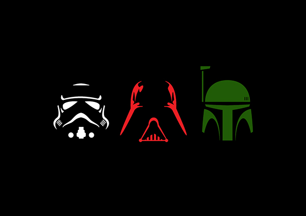 Star Wars Character Silhouettes on Behance