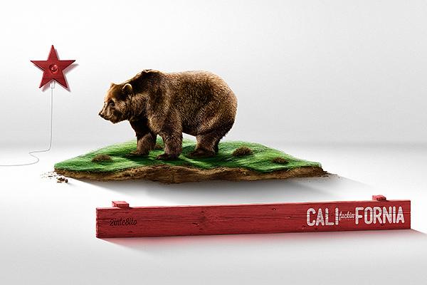 California Flag On Behance