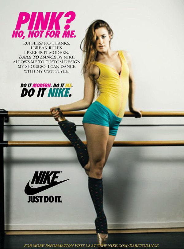 Nike Ad on Behance  Nike Ad on Beha...