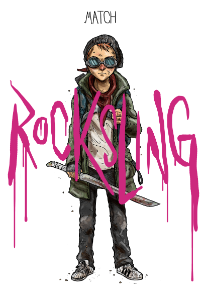 rocksling yohke comics quadrinho nacional História em Quadrinhos Graphic Novel