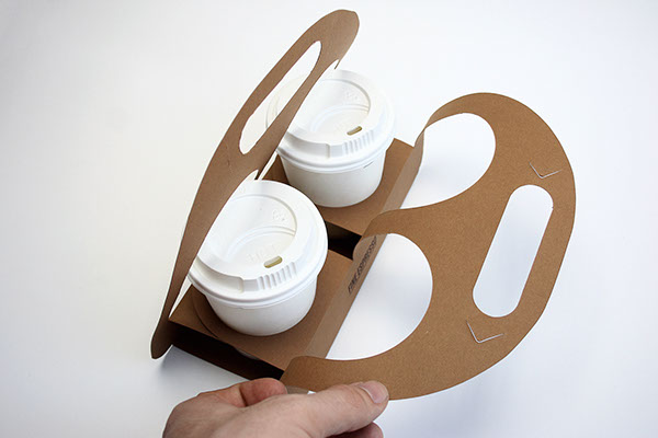 Coffee Cup Holder Concept On Behance