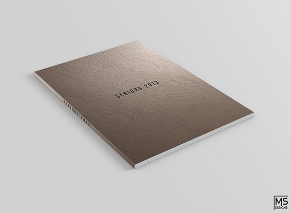 Graduation Book Cover Design ~ Graduation book cover design finalization on behance