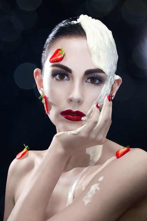 Karla Powell Make Up Artist: Food For Thought (part 1) On Behance