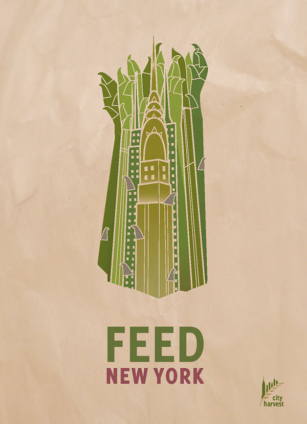 City Harvest's Feed New York Print Ads on Behance